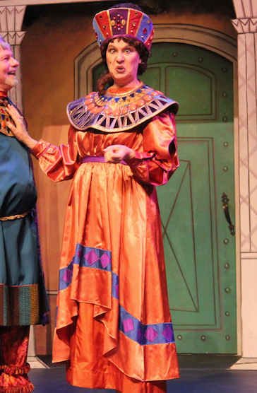 "Domina, ""A Funny Thing Happened on the Way to the Forum""; Cabrillo Music Theatre - 2016"